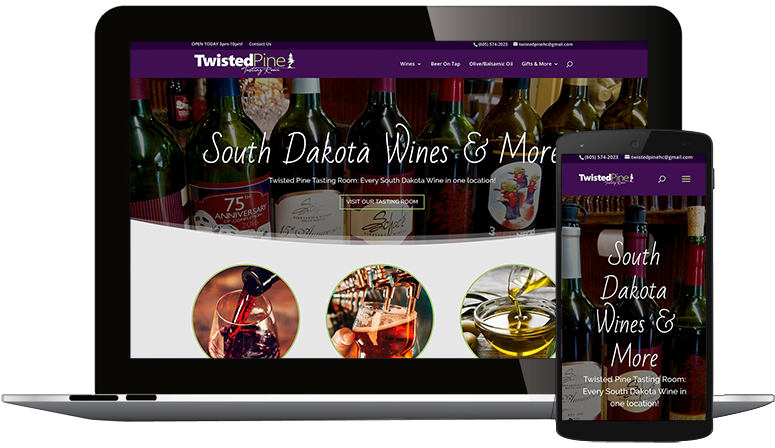 Website Design South Dakota, Iowa, Minnesota